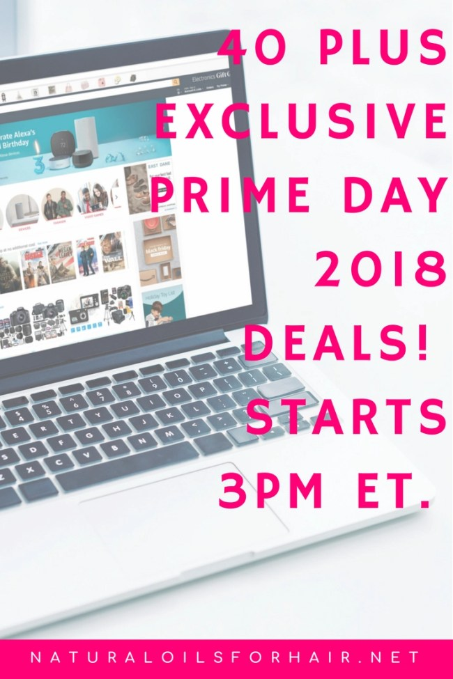 40 plus exclusive prime day 2018 deals in hair, health, beauty, fitness and more