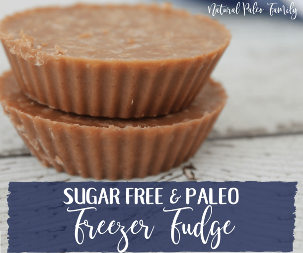 Paleo Freezer Fudge {Recipe}