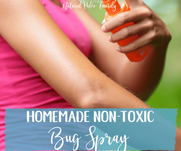 Non-Toxic Natural Bug Spray {Recipe}