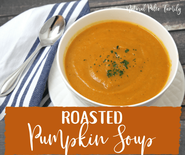 Roasted Pumpkin Soup {Recipe}