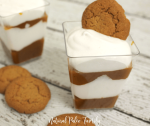 If you love pumpkin pie during the holidays, but you're trying to be healthier- then you will flip over this dairy & gluten free pumpkin pie parfait!