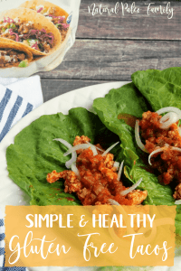 Tacos are one of the most popular foods in America. These gluten free tacos have all the flavor but none of the junk. Your family will love them!
