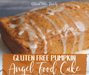 Fall is my favorite time of year, and all of the treats that come with it.This gluten free pumpkin angel food cake is easy and incredibly delicious!
