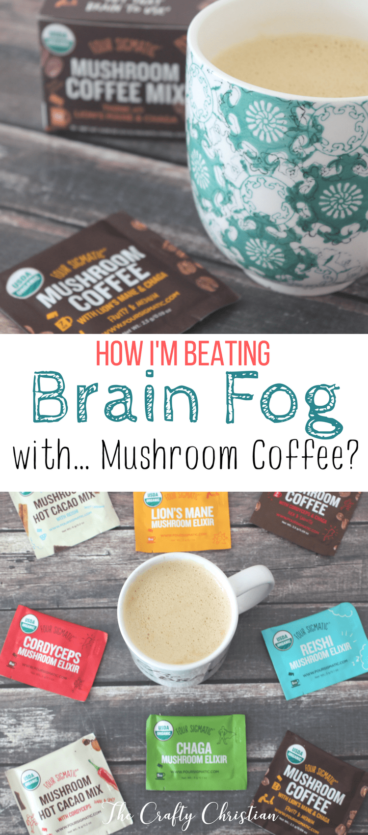 I've been beating brain fog immensely using mushroom coffee.  I feel like I can think more clearly, and I am functioning more like a normal person again.