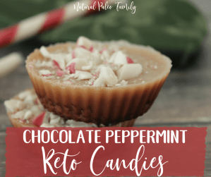 If there was a flavor for the Christmas season, it would be peppermint.  If you love peppermint& chocolate, then you'll love these peppermint keto candies!