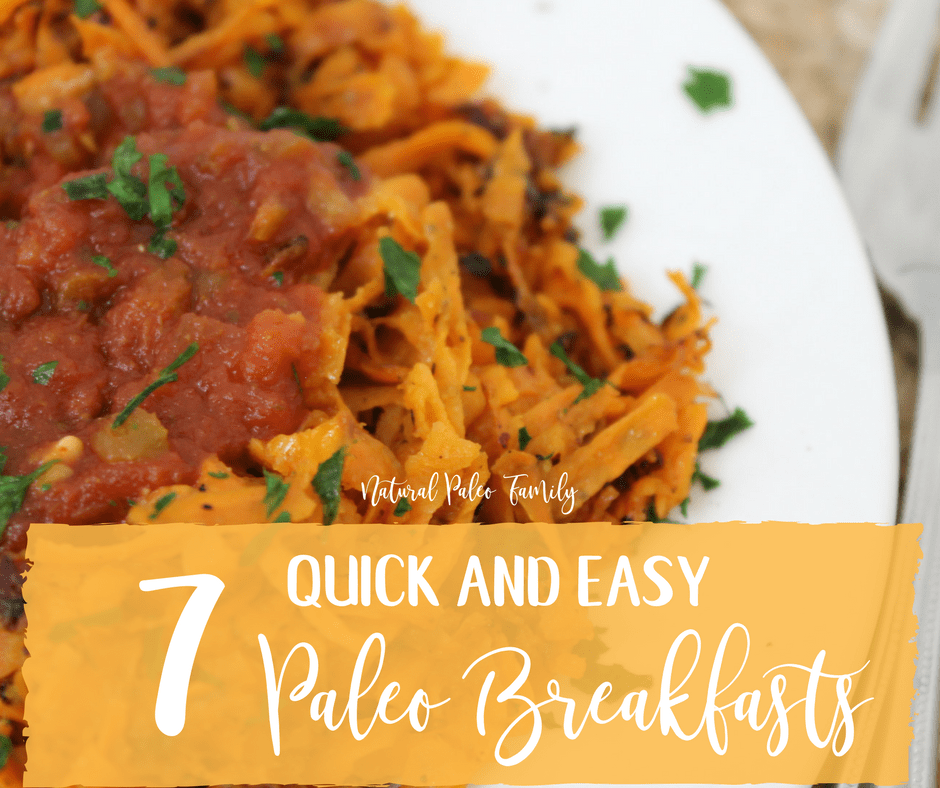 While most of us have heard that breakfast is the most important meal of the day, we still struggle to find something enjoyable, fast, and paleo friendly. Here you will find a weeks' worth of Paleo breakfast ideas that will make you look forward to waking up!