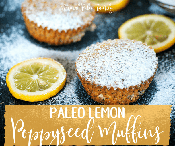 Paleo Lemon Poppyseed Muffins {Recipe}
