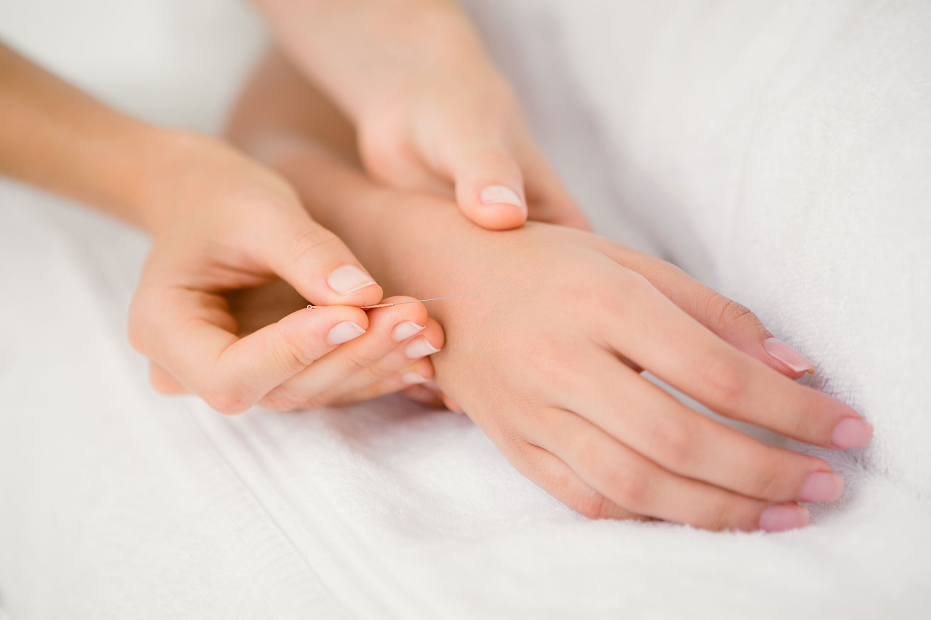 Houston Seniors Acupuncture Needing
