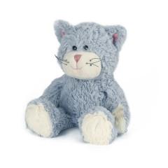 Peluche calentador para microondas – gato azul