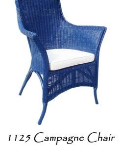 Champagne Rattan Arm Chair