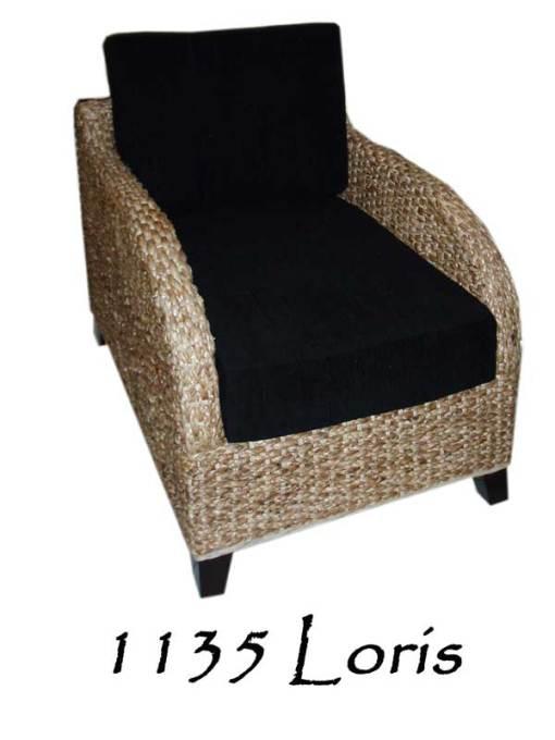 Loris Rattan Arm Chair