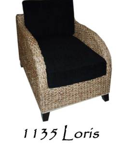 Loris Rattan Arm Chair