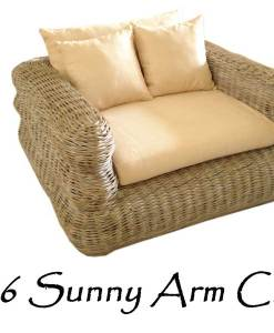 Sunny Rattan Arm Chair