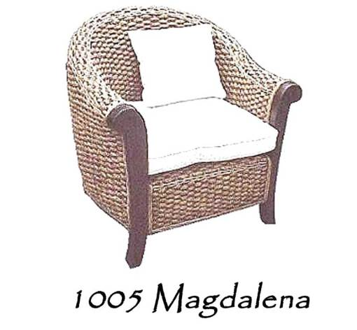 Magdalena Wicker Arm Chair