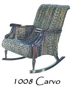 Carvo Wicker Rocking Chair