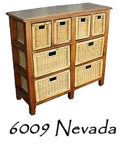 Nevada Rattan Drawer