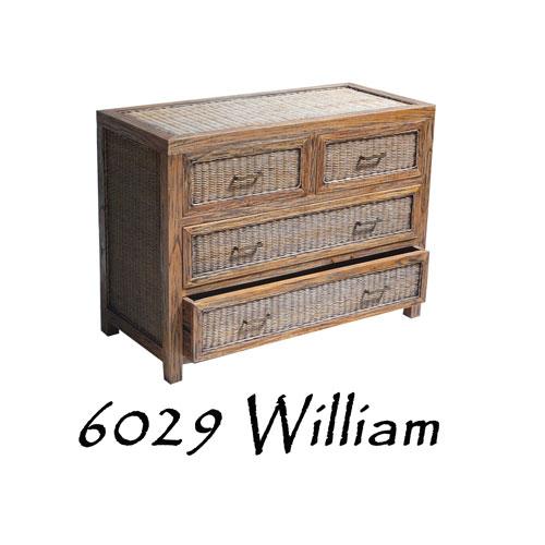 William Rattan skuffe