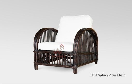 Sidney Rattan Arm Chair (Small)
