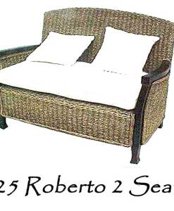 Roberto Wicker Sofa