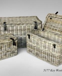 Key West Rattan Basket