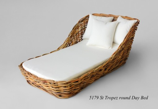 St Tropez Rattan Daybed