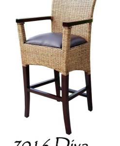 Diva Rattan Bar stool