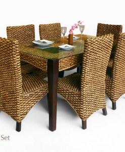 Anita Wicker Dining Set