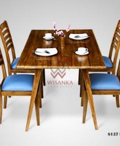 Lovely Wooden Dining Set