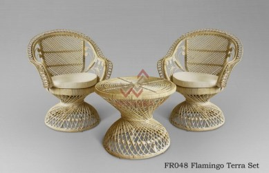 Flamingo Rattan Terrace Set