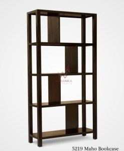 Mahoo Wooden Bookcase