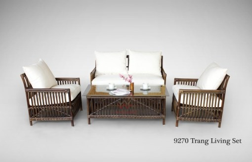 Trang Rattan Living Set