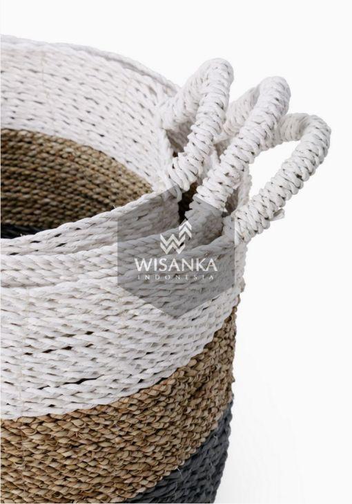 Samla Rattan Basket