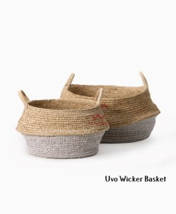 Uvo Wicker Basket