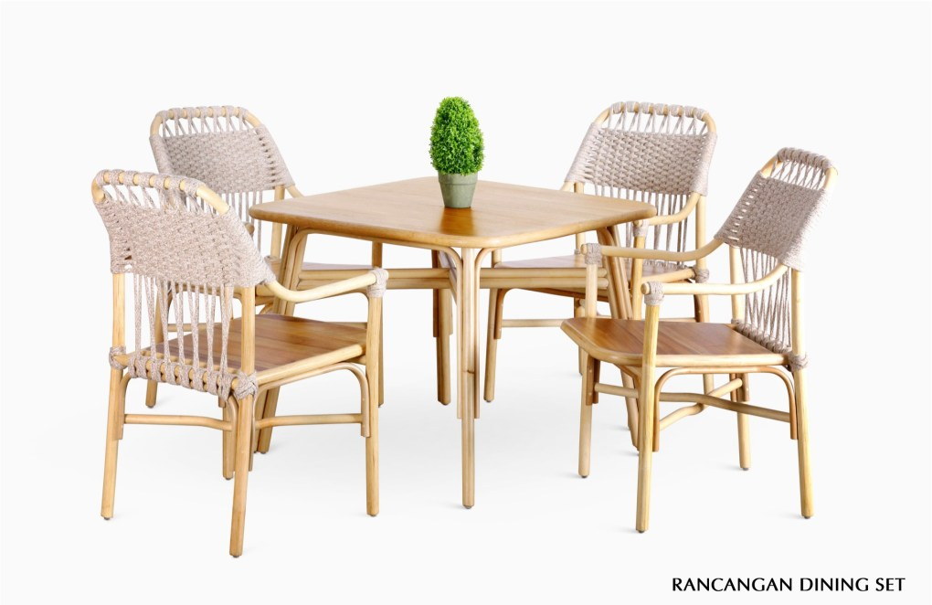 Rancangan Dining Set