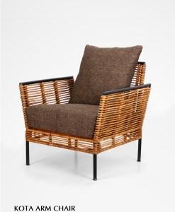 Kota Rattan Arm Chair