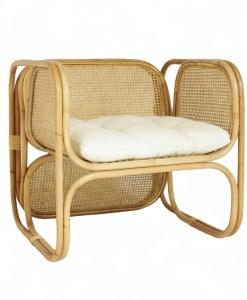 Fanie Rattan Arm Chair