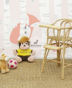 Ying Kids Rattan High Chair