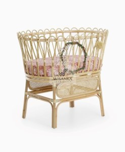 Chiko Rattan Crib