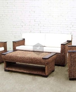 Napoli Rattan Living Set