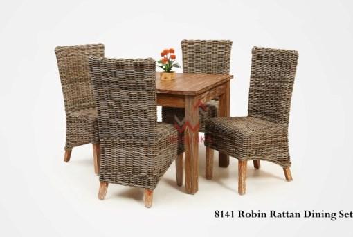 Robin Rattan Dining Set