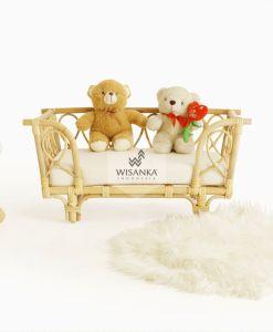 Bonie Rattan Doll bed
