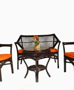 Brega Wicker Living Set