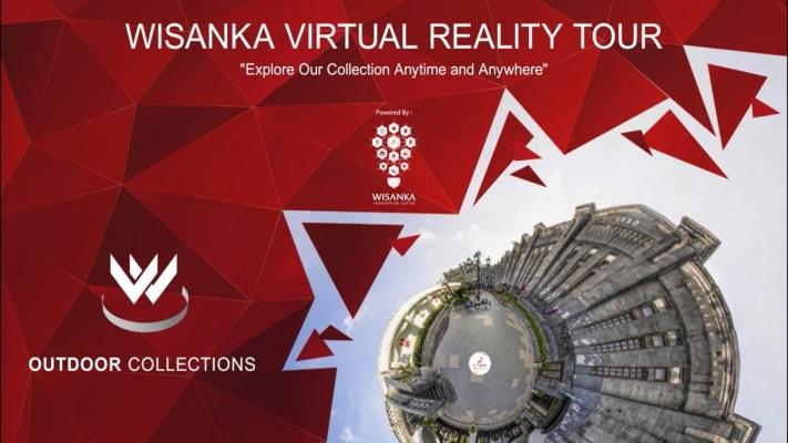 صالة عرض الواقع الافتراضي في الهواء الطلق