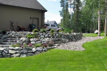 Landscaping Retaining Walls Pavers Decks Rockwall