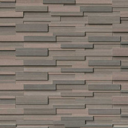 Brown Wave Stacked Stone