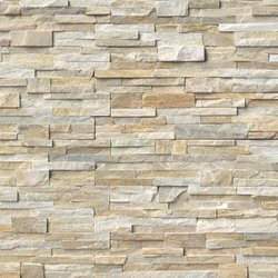 Golden Honey Ledger Stone Panel Travertine paver for sale