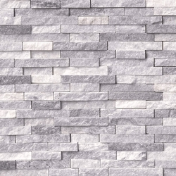 Alaska Gray Splitface Stacked Stone Veneer Ledger