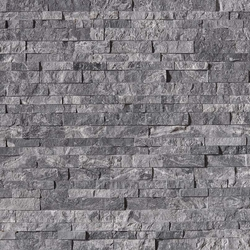 Glacial Grey Stacked Stone Panel