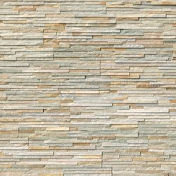 Golden Honey Pencil Stacked Stone Panels LPNLQGLDHON624-PEN
