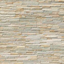 Golden Honey Pencil Stacked Stone Panels LPNLQGLDHON624-PEN
